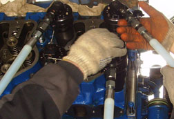Cylinder heads repairs