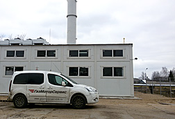CHP plant for housing facilities in Veliky Ustyug